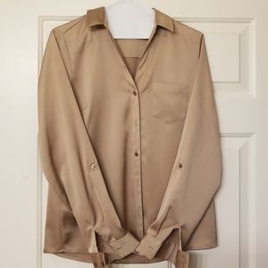Taupe Limited blouse.